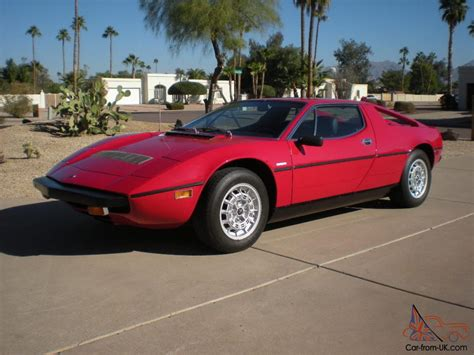 maserati merak for sale 1975 maserati merak base coupe 2 door 3 0l