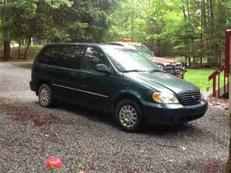purchase used 2003 kia sedona with a bad motor