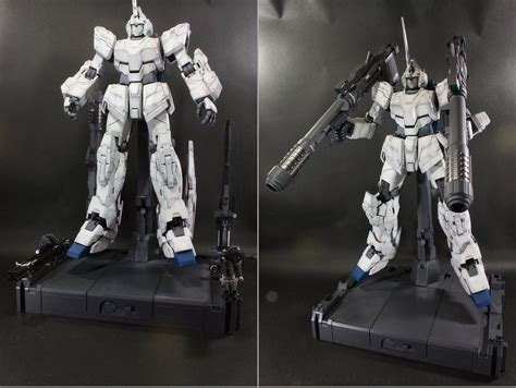 Pg 160 Unicorn Gundam Psycho Frame custom build pg 1 60 armor unicorn gundam quot sparkle