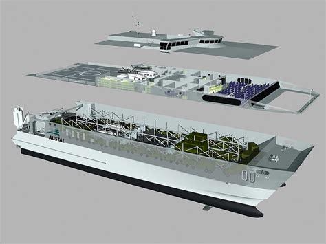 catamaran military ship the usa s jhsv fast catamaran ships built by australian