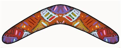 australian boomerang template boomerang template aboriginal clipart best