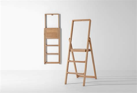 design house stockholm step ladder 10 easy pieces slim step ladders for small spaces