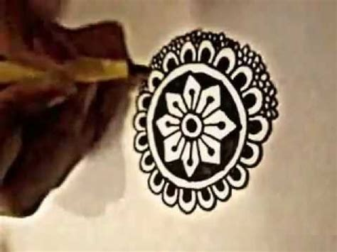 henna tattoo design tutorial tutorial easy technique for complex design henna mehndi