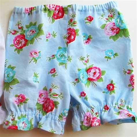bloomer pattern pdf high waisted bloomer pattern paper pretty pantaloons for baby baby bloomers sewing pattern