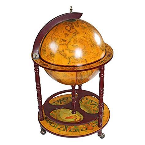 Abudhabi Tosca design toscano sixteenth century italian replica globe bar