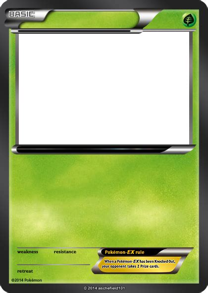 shiny templates credit card novafile xy blanks ex grass by aschefield101 on deviantart