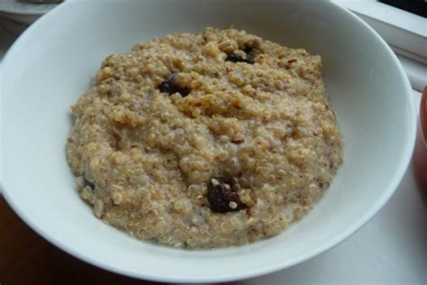 Spoonful Of Peanut Butter Before Bed by Quinoa Breakfast Cereal Recipe Genius Kitchen