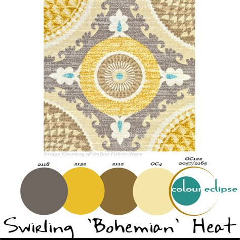 bohemian color scheme benjamin moore color combinations archives concepts and