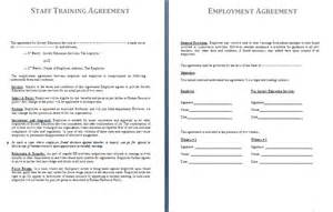 staff contracts template staff agreement template free agreement templates