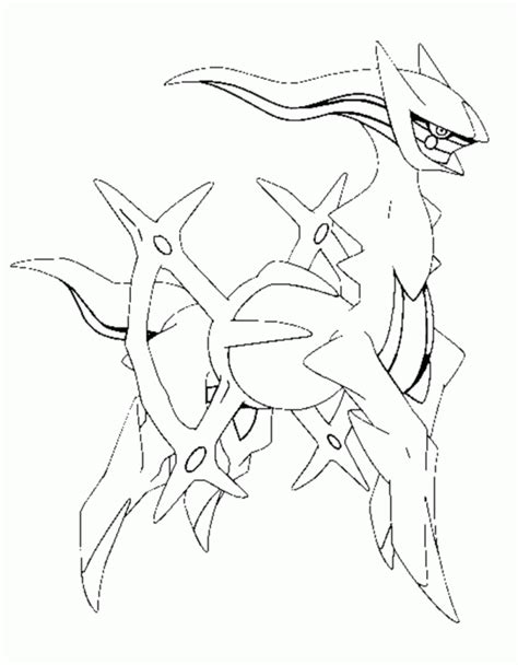 pokemon coloring pages of arceus pokemon arceus coloring pages coloring home