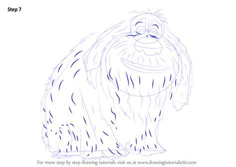 learn   draw duke   secret life  pets