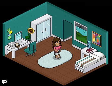 Artist Bedroom Ideas mini habbo bedroom by squishedpixel on deviantart