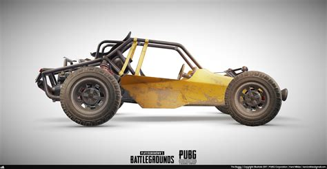 Pubg Buggy 3d Model