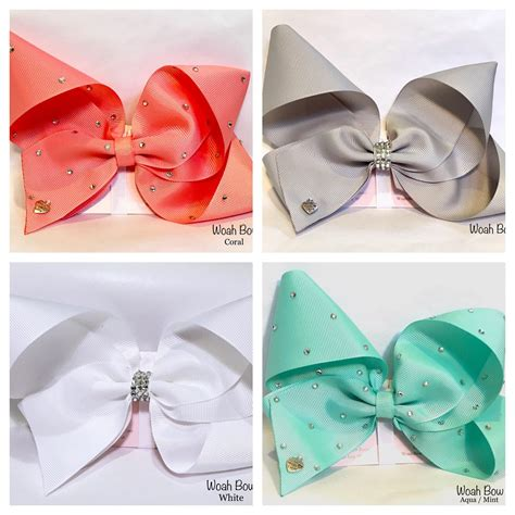 Jojo Handmade - large hair bow fashion similar style to jojo bows