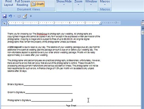 print layout view word 2007 how to use print layout and draft view in word 2007 dummies
