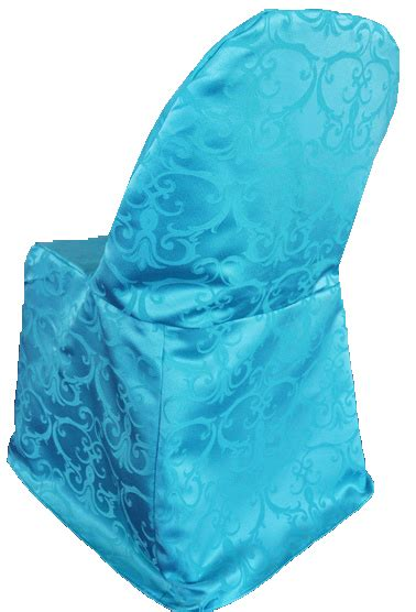 turquoise banquet chair covers turquoise versailles damask jacquard folding chair covers