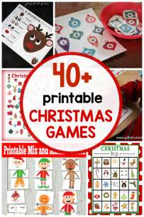 Games To Play At A Christmas Party - 40 free printable christmas games for kids the measured mom
