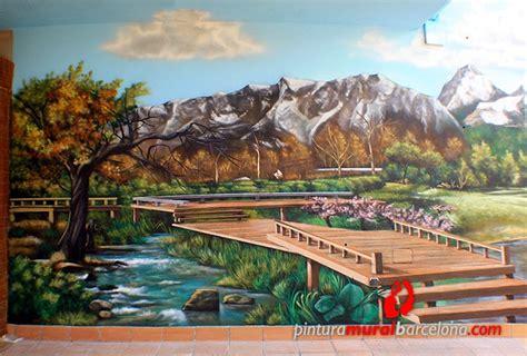paisajes  murales pintados  transformaran tus