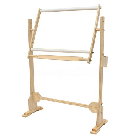 2 size wood embroidery floor stand tabletop frame hoop
