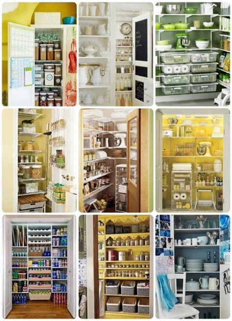 organizing ideas for kitchen pinterest