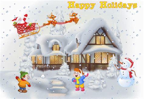 happy holidays graphic animated gif animaatjes happy