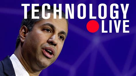 ajit pai live stream ajit pai a new course for the fcc live stream youtube