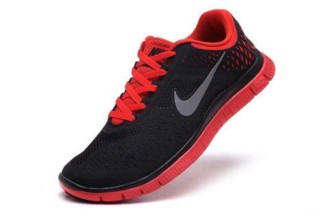 nike mens black running shoes nike free 4 0 v2 s running shoes black 73 00