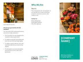 event brochure templates event brochure template format template
