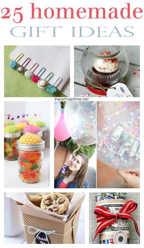 Ideas For Handmade Gifts For Friends - 25 fabulous gifts i nap time