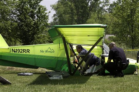 Backyard Airplane by 2 Critically Injured When Plane Crashes In Pittsfield