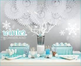 Winter wonderland dessert buffet hostess with the mostess 174