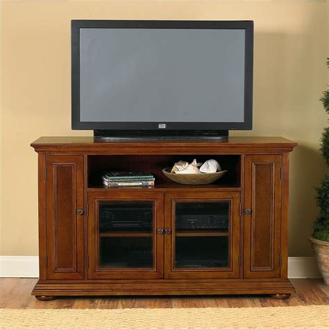 home styles furniture homestead wood lcd plasma distressed