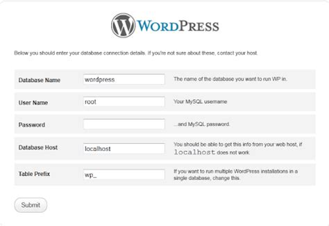 cara membuat folder di blog wordpress cara membuat atau install blog wordpress di localhost