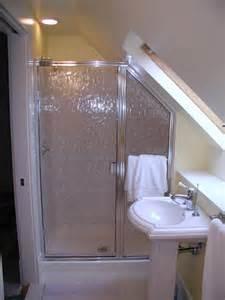 lights for slanted ceilings small bathroom slanted ceiling shower raised shower tray