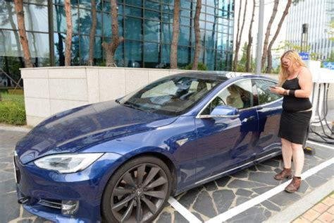 tesla begins testing model s autopilot on streets of south