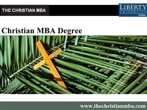Christian Schools Mba by Christian Mba Degree