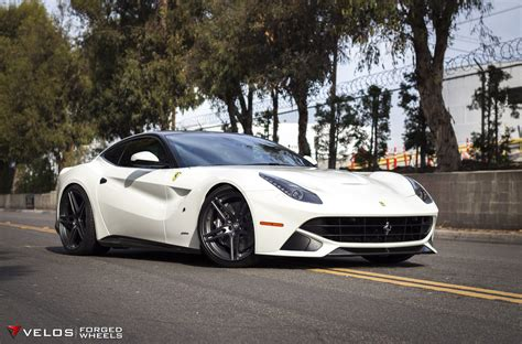 f12 berlinetta wheels f12 berlinetta on velos s1 forged wheels 22x12