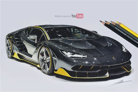 lamborghini drawing lamborghini centenario drawing roman miah draw to drive