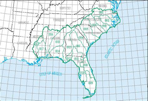 louisiana huc map south atlantic gulf water resource region