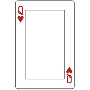 search results for playing card printable templates