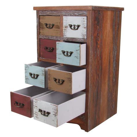 Schubladen Holz Kaufen by Vintage Holz Kommode Shabby 8 Schubladen Sideboard Schrank