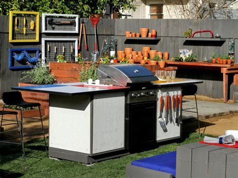 Patio Prep Station by Outdoor Kitchen Ideas Hgtv