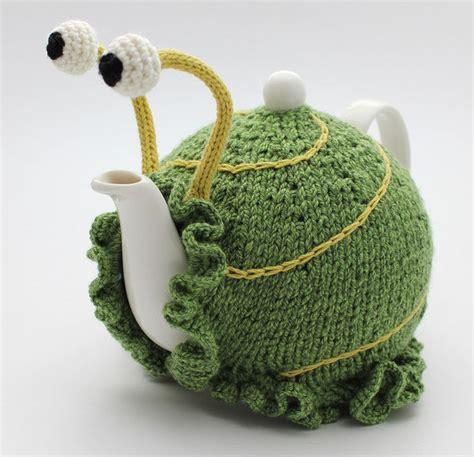 knitting patterns tea cosy easy kooky snail tea cozies quot knit tea cozy quot