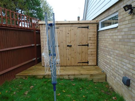shed installation cousins conservatories garden buildings regency
