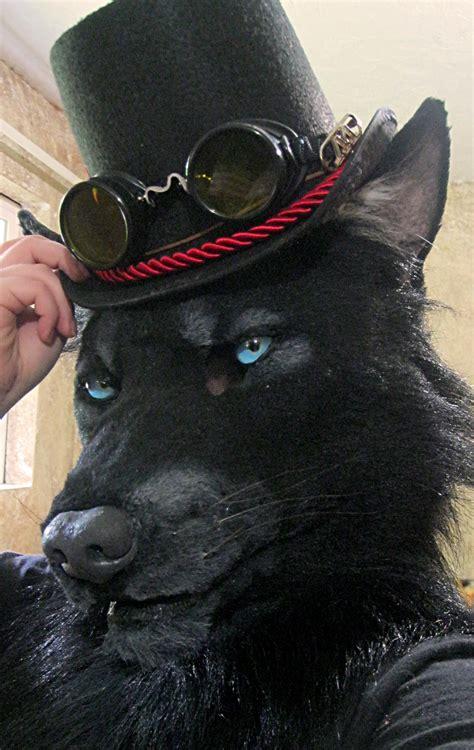 dapper   black werewolf weasyl