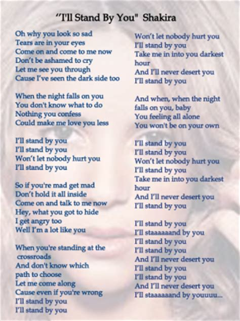 country music lyrics i will stand by you music sheets i ll stand by you
