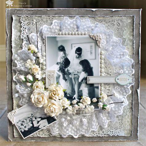 Wedding Scrapbook Layouts Ideas by Butterfly Kisses Paper Pretties 12x12 Wedding Scrapbook