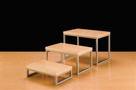 table top display risers nesting display risers