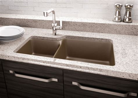 how to clean a quartz sink quartz and granite kitchen sinks