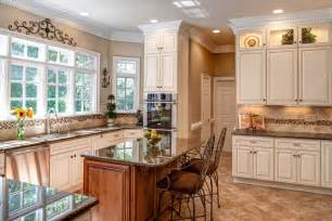 glass and stone backsplash spaces traditional with